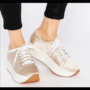 Vagabond Casey Platform Sneakers Size 9 EU 40
